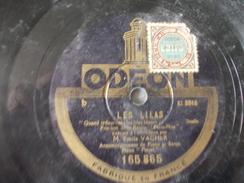 78T - Gosse De Paris Et Les Lilas Par Emile Vacher - 78 G - Dischi Per Fonografi
