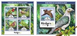 Z08 SLM17324ab Solomon Islands 2017 Rare Birds MNH ** Postfrisch - Salomon (Iles 1978-...)