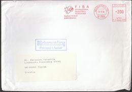 Germany Munich 1994 / FIBA - International Basketball Federation / Machine Stamp - Baloncesto