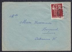 Yugoslavia 1956 Nikola Tesla, Transformer, Letter - 1945-1992 Sozialistische Föderative Republik Jugoslawien