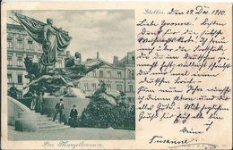 Pologne  STETTIN   -   DER   MANZELBRUNNEN     En 1900 - Polen