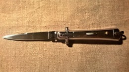 Couteau Automatique BARGEON Tout INOX - Armes Blanches