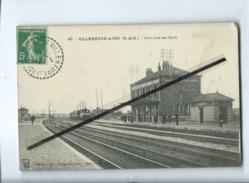 CPA - Villeneuve Le Roi - (S.-et-O.) - Gare Prise Des Quais - Villeneuve Le Roi