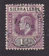 Sierra Leone, Scott #79, Used, King Edward VII, Issued 1904 - Sierra Leone (...-1960)