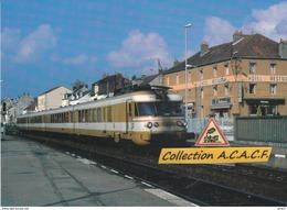 Turbotrain ETG, à Montceau-les-Mines (71) - - Montceau Les Mines