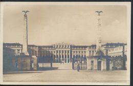 °°° 6322 - AUSTRIA - WIEN - SCHLOSS SCHONBRUNN HAUPTTOR - 1935 With Stamps °°° - Château De Schönbrunn