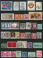 WORLDWIDE---Collection Of USED DL-364 - Stamps