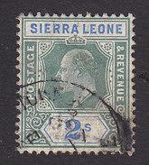 Sierra Leone, Scott #87, Used, King Edward VII, Issued 1904 - Sierra Leone (...-1960)