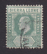 Sierra Leone, Scott #90, Used, King Edward VII, Issued 1907 - Sierra Leone (...-1960)