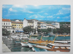 Postcard Crikvenica Croatia PU 1987 My Ref B21799 - Croatia