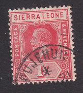 Sierra Leone, Scott #104, Used, King George V, Issued 1912 - Sierra Leone (...-1960)