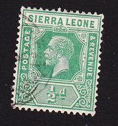 Sierra Leone, Scott #122, Used, King George V, Issued 1921 - Sierra Leone (...-1960)