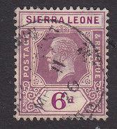 Sierra Leone, Scott #130, Used, King George V, Issued 1921 - Sierra Leone (...-1960)