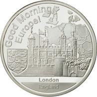 Grande-Bretagne, Medal, 1 Onz. Europa, FDC, Argent - Other