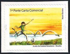 BRAZIL 2014  -  THE ART OF BRAZILIAN  FOOTBALL   -  VENUE OF BRASILIA - Brazil