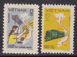 VIETNAM Trains Railway MNH** - Eisenbahnen