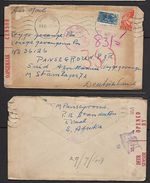 S.Africa, 9d Airmail STANDERTON 8 V 44 >  PoW In STALAG 7A, Redirected > STALAG 357 (Thorn, Poland) - South Africa (...-1961)