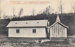 80)  LUCHEUX  - Source Du Moulin à Vent L' Evian Picard - Eau Minérale Ou Gazeuse - Bâtiment D' Exploitation - Lucheux