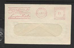 S.Africa, Meter Frank, 1d, JOHANNESBURG  6 III 59 + Slogan  KATZ & LAURIE / LONGINE WATCHES - South Africa (...-1961)