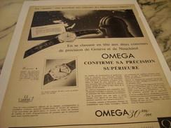 ANCIENNE PUBLICITE MONTRE OMEGA 1956 - Autres