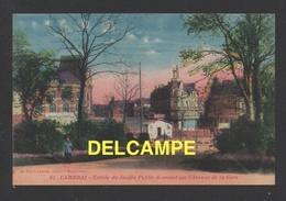 DF / 59 NORD / CAMBRAI / ENTRÉE DU JARDIN PUBLIC DONNANT SUR L'AVENUE DE LA GARE - Cambrai
