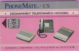 Télécarte Tchéquie °° Holo Zàznamniky Hovorù -Sc4- 50000 Exemplaires - RV. - Tchéquie