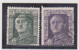 ESPAGNE   1949-54  Y.T. N° 793a  794A  Oblitéré - 1931-Hoy: 2ª República - ... Juan Carlos I