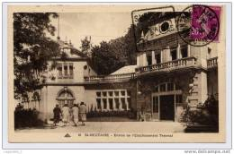 10 - St-Nectaire - Entree De L'Etablissement Thermal. - Saint Nectaire