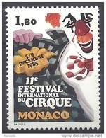 N° 1496 De Monaco - X X - ( E 952 ) - Circus
