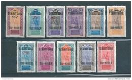 Colonie  Timbres Du Niger De 1922/26   N°18 A 28  Neufs * - Niger (1921-1944)
