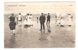 Blankenberge - Les Bains - Zeer Geanimeerd - Enkele Rug - 1905 - Blankenberge