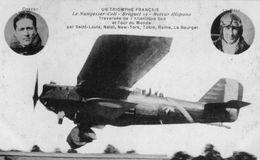(49) CPA Avion Triomphe Francais  Nungesser Coli  Briguet 19 Costes Le Brix  ( Bonne Etat) - 1919-1938