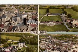 -72  Savigne L Eveque  Multivues Cpsm Gm - France