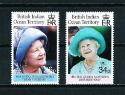 Océano Índico (Británico)  Nº Yvert  229/30  En Nuevo - Territorio Británico Del Océano Índico