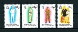 Océano Índico (Británico)  Nº Yvert  185/8  En Nuevo - Territorio Británico Del Océano Índico