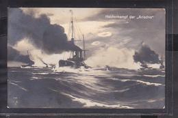 S21 /    Kriegsschiff Heldenkampf Der Ariadne / Eiserfeld 1915 - Guerra