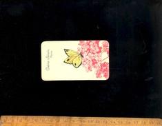 Petite Carte Publicitaire (parfumée Plus De Parfum) CREME SIMON Savon Poudre - Cartoline Profumate