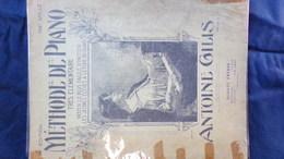 PARTITION MUSICALE- METHODE DE PIANO TRES ELEMENTAIRE -ANTOINE GILLIS-SCHOTT FRERES PARIS BRUXELLES- - Scores & Partitions