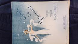 PARTITION MUSICALE-ETOILE DE JEUNESSE- DEANE -DOSSERT-EDNA CALDERWOOD-L. GRUS PARIS NEW YORK  1909 - Scores & Partitions