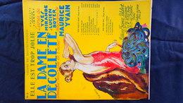 PARTITION MUSICALE- LA DAME DECOLLETE-THEATRE BOUFFES PARISIENS-TIRMONT-YVES MIRANDE-LUCIEN BOYER-MAURICE YVAIN-VALERIO - Scores & Partitions