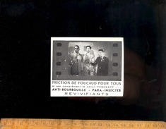 Petite Carte Publicitaire Friction De FOUCAUD Savon TEGOSEPT Chez Lucienne MERLE 56 Fbg Saint Honoré PARIS - Perfume & Beauty