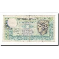 Italie, 500 Lire, KM:94, 1974-02-14, TB - [ 2] 1946-… : Repubblica