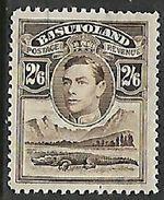 Basutoland, GVIR, 1938, 2s6d, Unused, No Postmark, No Gum - Basutoland (1933-1966)