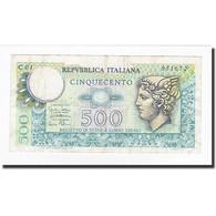 Italie, 500 Lire, KM:94, 1974-02-14, TTB - 500 Lire