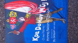 PARTITION MUSICALE-KDE DOMOV MUJ-OH MA PATRIE-TCHEQUIE-FR. SKROUP-JOSEPH SZULC-ILLUSTRATEUR CLERICE 1915-ESCHIG PARIS - Scores & Partitions