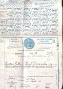 Lot 2 Titres - République Française - Dette Publique 4,5 %, Paris 1932 - Aandelen