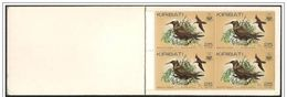 Kiribati: Libretto, Booklet, Carnet, Uccelli Diversi, Différents Oiseaux, Different Birds - Vögel