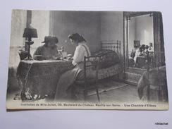 NEUILLY SUR SEINE-Institution De Mlle Julien-Une Chambre D'élèves - Neuilly Sur Seine