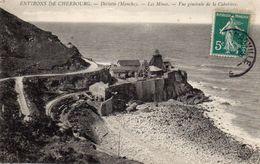CPA  -  Environs De CHERBOURG -  DIELETTE  (50)   Les Mines -  Vue Générale De La Cabotière . - Frankreich