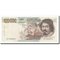Italie, 100,000 Lire, KM:110a, 1983-09-01, TTB - [ 2] 1946-… : Repubblica